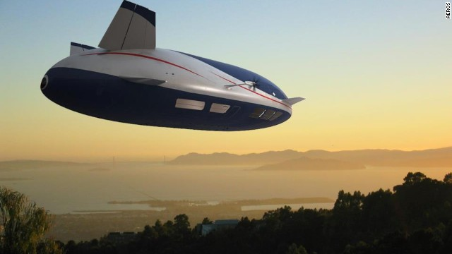 And now they appear to be undergoing something of a renaissance -- U.S.-based Aeros is working on the Aeroscraft, a cargo-carrying airship.