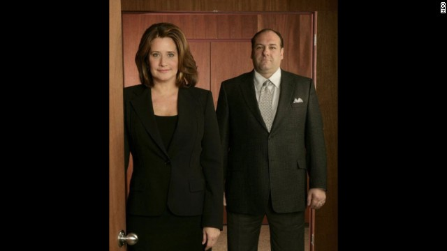 "Lorraine Bracco, who played Tony's psychiatrist, Dr. Melfi: ""We lost a giant today. I am utterly heartbroken."""