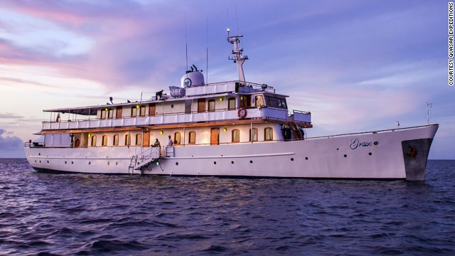 If you've ever wanted to be treated like a princess on holiday, this is the superyacht for you. The iconic M/Y Grace was the vessel of choice for Princess Grace and Prince Rainier of Monaco during their honeymoon in 1956.