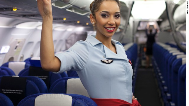 In 2005, Société Christian Lacroix spruced up Air France's look with his haute couture cabin crew uniforms. His designs are still worn on board today.