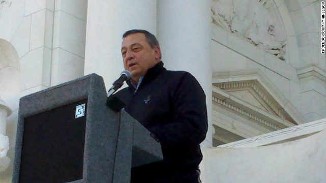 Maine Gov. LePage to run for re-election