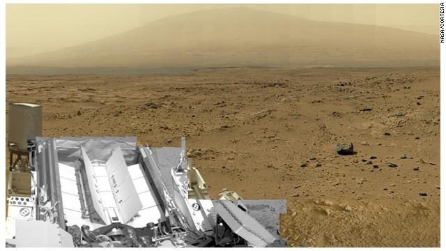 ¡Una foto de 1.300 millones de pixeles de Marte!