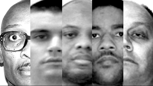 The U.S. military has not executed one of its own since 1961. Here are the five men on the military's death row.