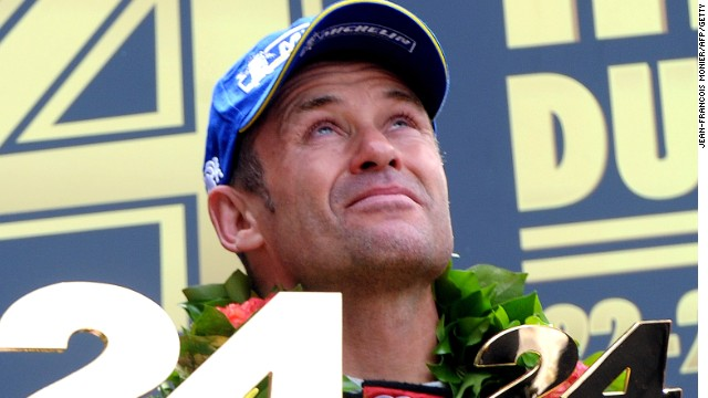 Tom Kristensen dedicated his victory to fellow Dane Allan Simonsen after winning Le Mans for Audi.