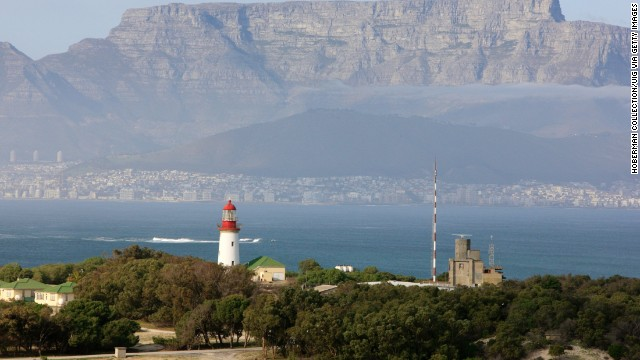 The Robben Island lighthouse was installed in 1864.