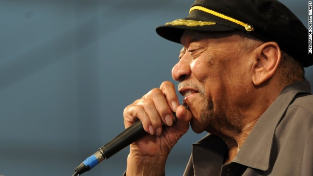 "Singer <a href='http://www.cnn.com/2013/06/24/showbiz/bland-dead/index.html'>Bobby ""Blue"" Bland</a>, who helped create the modern soul-blues sound, died June 23 at age 83. Bland was part of a blues group that included B.B. King. His song ""Ain't No Love in the Heart of the City"" was sampled on a Jay-Z album. Bland was inducted into the Rock and Roll Hall of Fame in 1992."