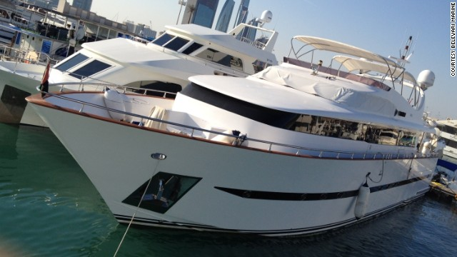 Celebrity superyachts available for hire