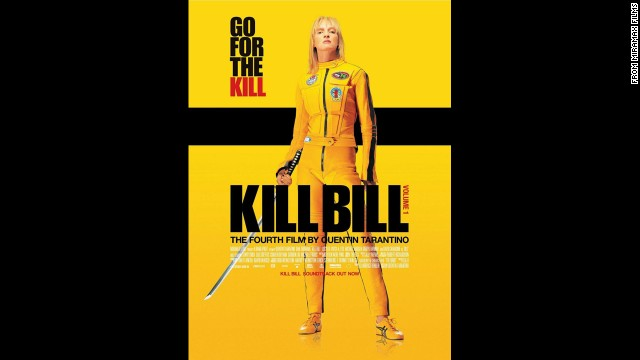 "This time around, Tarantino let the girls have some fun. In 2003's ""Kill Bill Volume 1,"" Uma Thurman wreaks havoc and dices enemies as The Bride."