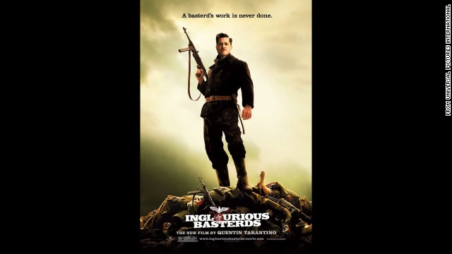 "This time around Tarantino used France during World War II as the setting for much violence in 2009's ""Inglourious Basterds."""