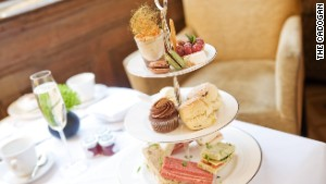 Indulge yourself with tea at The Cadogan Hotel.