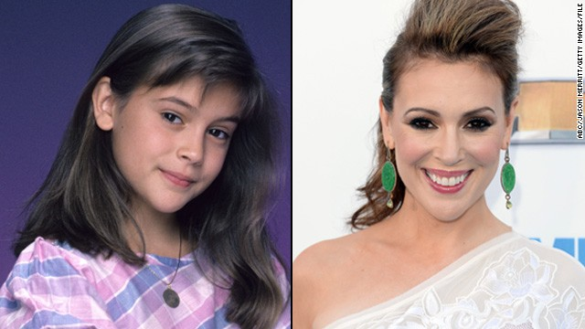 "Alyssa Milano, who starred as a pre-teen on the '80s series ""Who's The Boss?,"" thinks talent is one factor that helps a child star safely transition into more adult roles."