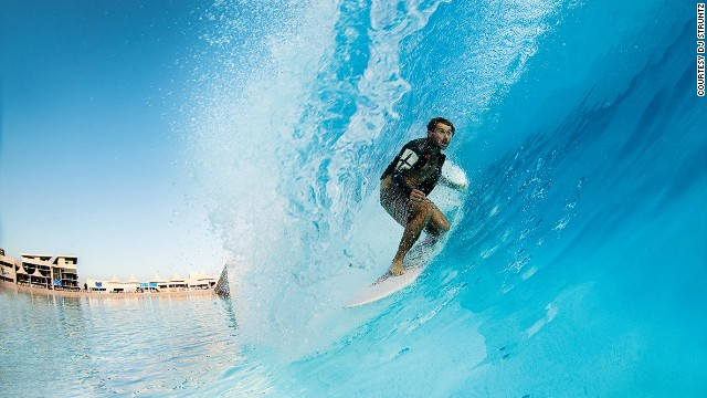 The artificial surf pool (number 41) at Wadi Adventure has converted its share of skeptics, inspiring some to proclaim it the future of surfing.