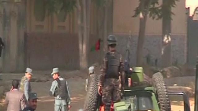 Palacio presidencial en Afganistán bajo fuego del Talibán