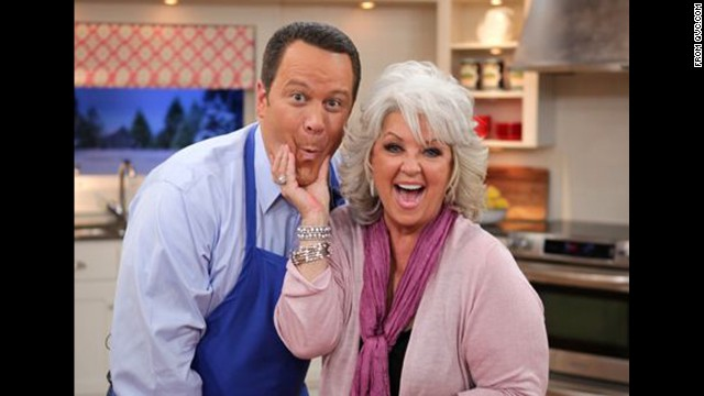 "QVC features the <a href='http://www.qvc.com/Paula-Deen-Kitchen-&-Food.category.0102.html?refine=1001299+4294966886&cm_re=BRAND-_-Paula+Deen-_-BYALPHABET&cm_sp=BRANDLINKS-_-BRANDS-AZ-_-Paula+Deen' target='_blank'>Paula Deen's Kitchen</a> line of products, including cookware, bakeware and cookbooks. A spokesperson for the brand said: ""Paula won't be appearing on any upcoming broadcasts, and we will phase out her product assortment on our online sales channels over the next few months."""
