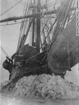 Soon after leaving port in Alaska, the ship encountered the worst summer ice in memory. Trapped, the Karluk was unable to turn back or move forward. Although they were only a few miles from land, they were hundreds of miles from civilization and winter was approaching.