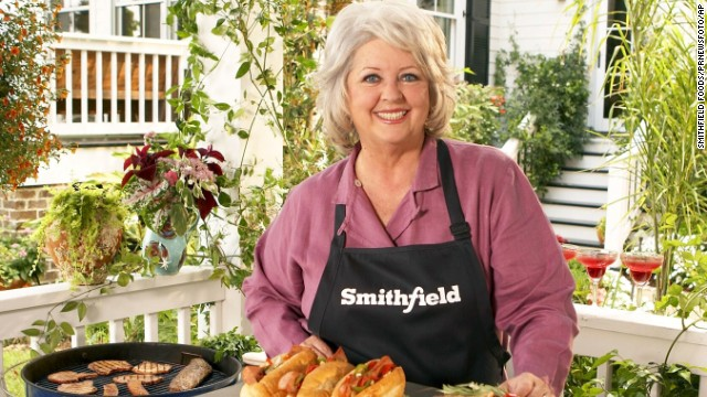 "<a href='http://eatocracy.cnn.com/2013/06/24/smithfield-foods-drops-paula-deen/'>Smithfield Foods terminated its relationship with the TV chef</a>, saying: ""Smithfield condemns the use of offensive and discriminatory language and behavior of any kind. ... Smithfield is determined to be an ethical food industry leader and it is important that our values and those of our spokespeople are properly aligned."" Deen became a spokeswoman for Smithfield, the country's largest producer of pork products, in 2006."