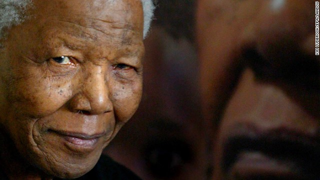 Political world reacts to Nelson Mandela death