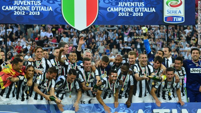 Champions Juventus were one of the high-profile clubs raided by Italian prosecutors.