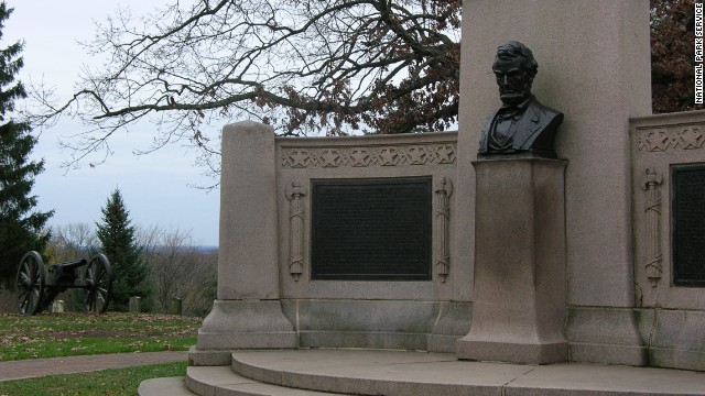"On November 19, 1863, President Abraham Lincoln gave his Gettysburg Address, reminding listeners ""that government of the people, by the people, for the people, shall not perish from the earth."""