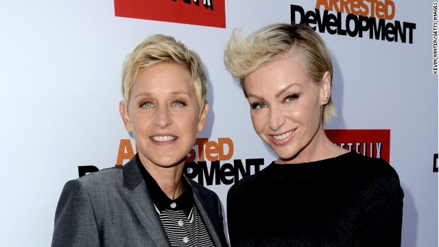 Ellen Degeneres tweeted that Portia de Rossi has snagged a role on