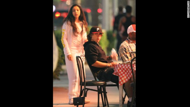 "Earlier this year, Prince <a href='http://www.cnn.com/2013/02/26/showbiz/prince-jackson-acting'>kicked off an acting career </a>by appearing on the TV show ""90210."" Just as he was back in regular kid mode, out for pizza with girlfriend Remi Alfalah and her family in Los Angeles, Paris was taken to the hospital."