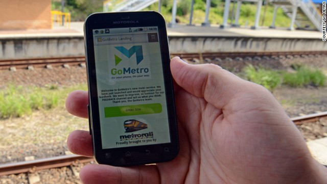 More smartphones could improve public services. Startup GoMetro aims to improve commuting in South Africa by providing real-time train schedules, associated platform changes, a trip planner, fare calculator and route maps.