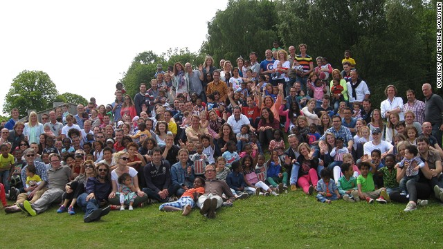 Seventy Dutch families who adopted U.S. kids gather for an annual Fathers Day picnic in June.