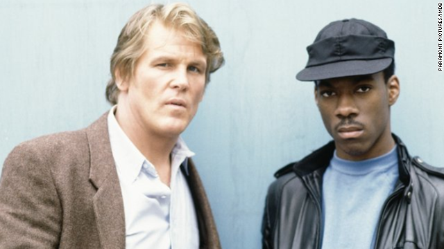 "Eddie Murphy, right, was already a star on ""Saturday Night Live,"" but this box-office smash soon catapulted him to movie stardom. The success of the 1982 movie, co-starring Nick Nolte, kicked off a slew of buddy cop movies in the '80s."