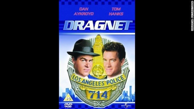 The ultimate buddy cop show of the 1950s got parodied by Tom Hanks and Dan Aykroyd in 1987. Aykroyd seemed born to play a tongue-in-cheek Sgt. Joe Friday.