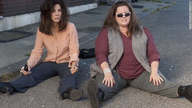 "Sandra Bullock, left, and Melissa McCarthy star in ""The Heat,"" director Paul Feig's long-awaited follow-up to the 2011 comedy ""Bridesmaids."" This time, Feig toys with the buddy cop genre, with women in the lead -- a rarity to be sure. Click through for a look at the history of buddy cop movies"