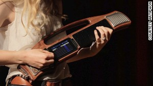The Artiphon Instrument 1 can be played in a number of different positions, including as a guitar