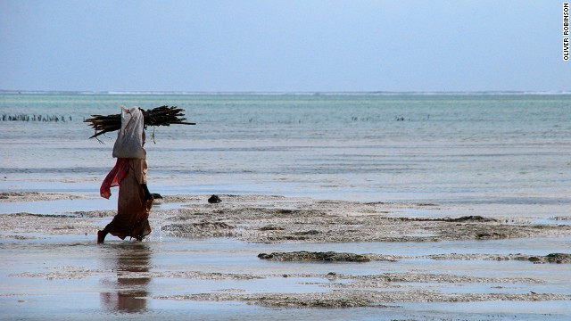 Aside from tourism, fishing is the main source of income for many residents of Zanzibar.