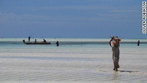Fishing is the primary source of income for many Zanzibar residents.