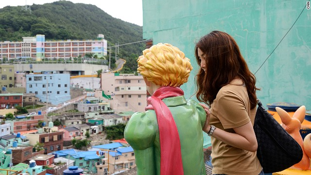 "The ""Little Prince"" is one of many quirky surprises found around corners in Gamcheon."