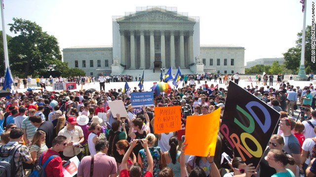 Polls: Plurality support same-sex marriage ruling