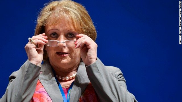 (File photo) German Justice Minister Sabine Leutheusser-Schnarrenberger pictured in May 2013.