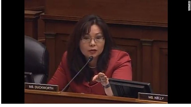 Duckworth rips witness over veterans disability claim