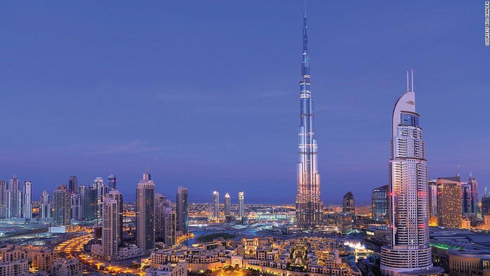 Burj Khalifa, Dubai, Emiratos Arabes Unidos