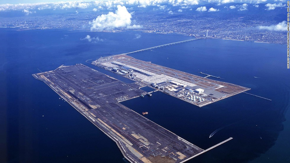 Aeropuerto Internacional Kansai, Osaka, Japón