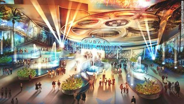 Dubai Adventure Studios will be a movie-themed park that will also host film premieres. <!-- --> </br><strong>Opening date</strong>: late 2014.