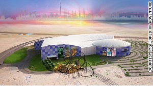 IMG Worlds of Adventure, Dubai.