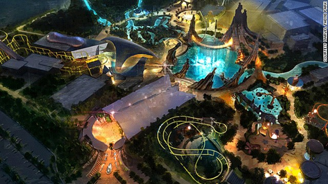 The guys behind Marvel City Theme Park have made the most of the space on offer by relying heavily on projections and 3D effects. <!-- --> </br><strong>Opening date</strong>: December 2013.