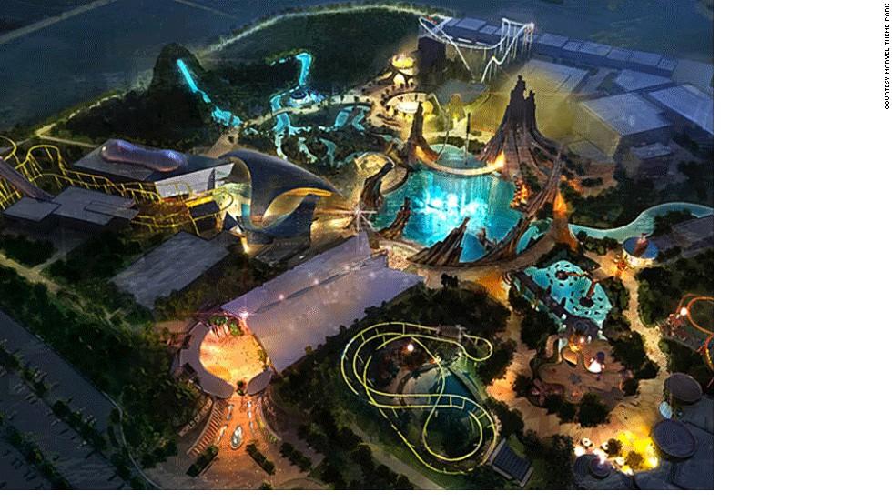 Parque Marvel City, Dubai
