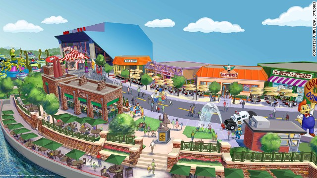 "A spin on Kang and Kodo's Twirl n' Hurl at this Simpson's-themed park promises to take ""foolish humans on an intergalactic spin designed to send them into orbit."" <!-- --> </br><strong>Opening date</strong>: Summer 2013."