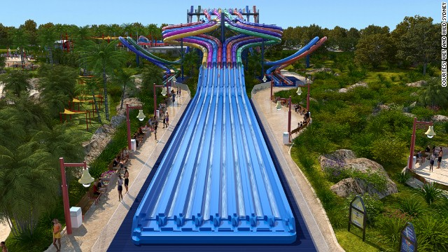 Wet n' Wild Sydney will feature one of the world's largest wave pools, the only wave machine capable of producing a 10-foot barrel wave, the world's tallest water coaster and a water slide with eight separate lanes.<!-- --> </br><strong>Opening date</strong>: December 2013.