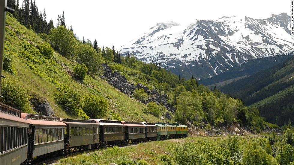 Ferrocarril de White Pass y Yukon, Canadá