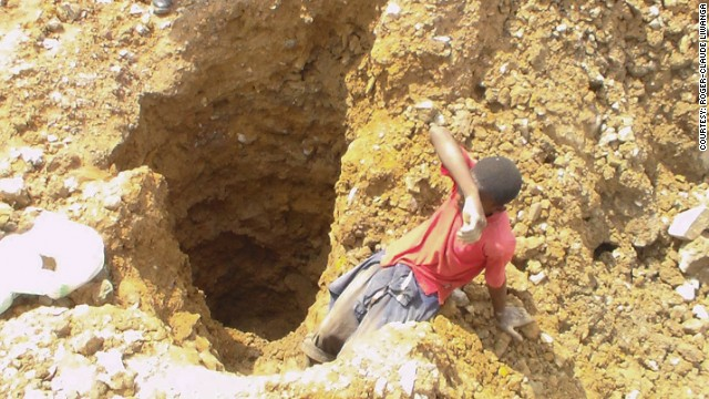 Child miners face death for tech