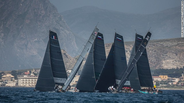 RC44 Trapani Cup - where business moguls and the stars of sailing race together