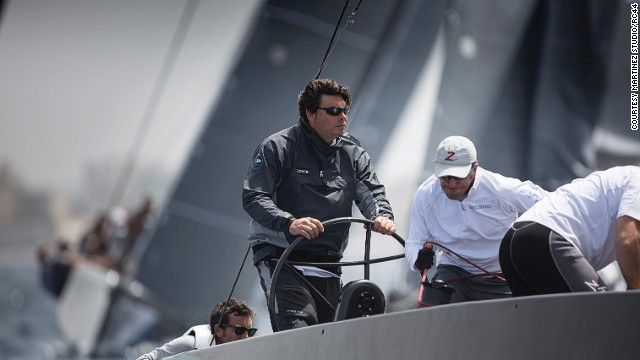 The RC44 Tour goes to the best sailing spots across the world, and the boats, which are made entirely of carbon and have a removable stern and keel fin attachment, are transported in customized 40 foot containers.