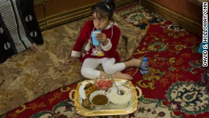 Noor doesn\'t like to eat a lot because of her intestinal problems common for spina bifida patients.